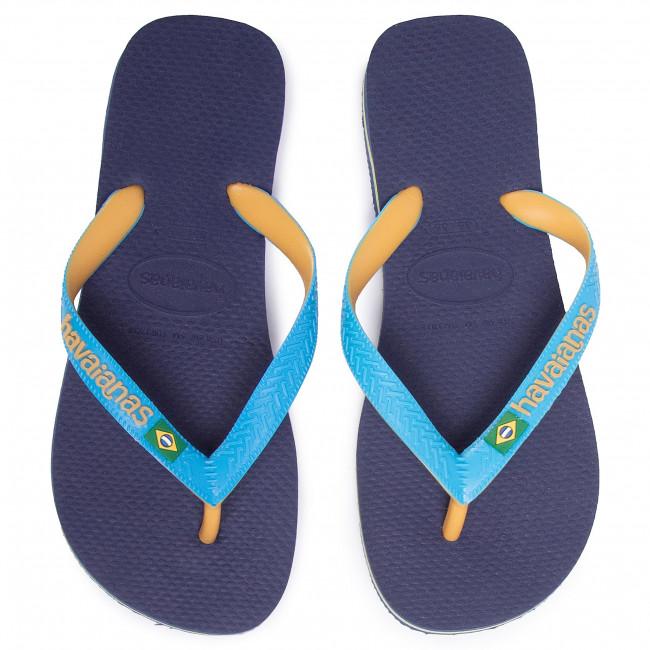 Infradito HAVAIANAS - Brasil Mix Fc 41232067672 Marino/Azul Turqu - Infradito - Ciabatte e sandali - Donna