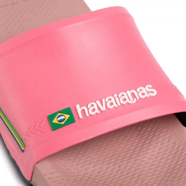 Ciabatte HAVAIANAS - Slide Brasil Fc 41426163544 Crocus Rose - Ciabatte da giorno - Ciabatte - Ciabatte e sandali - Donna