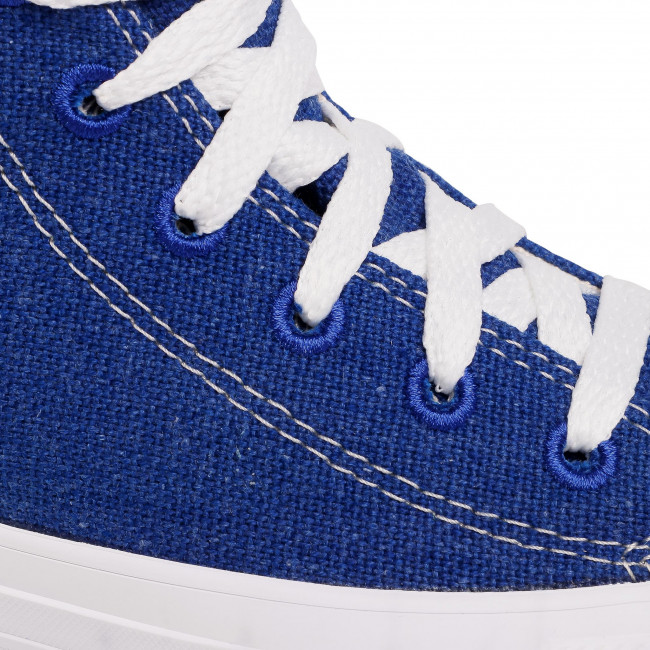 Scarpe da ginnastica CONVERSE - Ctas Hi 166741C Rush Blue/Natural/White