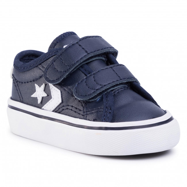 Sneakers CONVERSE - Star Replay 2V Ox 767220C Obsidian/Obsidian/White