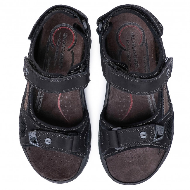 Sandali SALAMANDER - Dino 31-40201-11 Black - Sandali - Ciabatte e sandali - Uomo