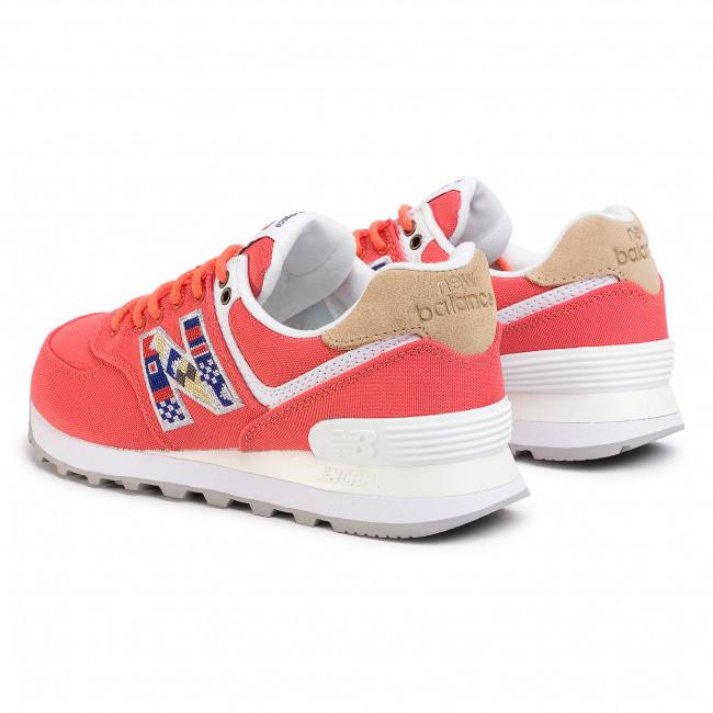 scarpe bambino new balance 23 rossa