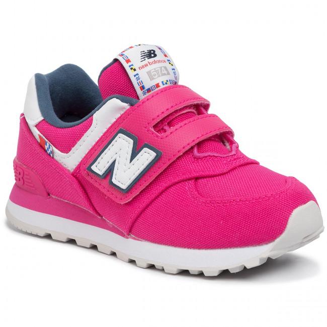 new balance 574 bambina rosa