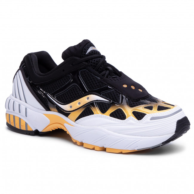 Sneakers SAUCONY - Grid Web S70466-3  Wht/Blk/Yel