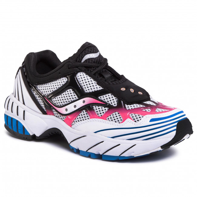 Sneakers SAUCONY - Grid Web S70466-4 Wht/Pnk/Blu