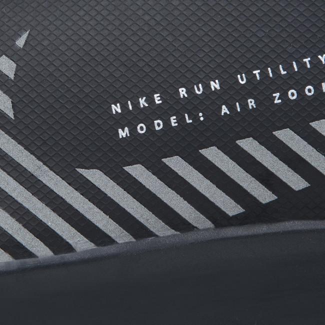 Scarpe NIKE - Air Zoom Pegasus 36 Shield AQ8005 001 Black/Black/Metallic Silver - Scarpe da allenamento - Running - Scarpe sportive - Uomo