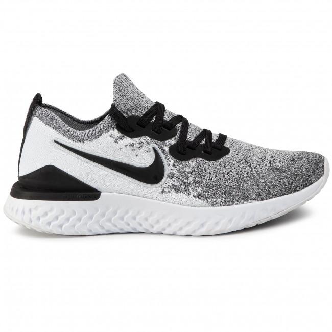 Scarpe NIKE Nike Epic React Flyknit 2 BQ8927 102 WhiteBlackPure Platinum