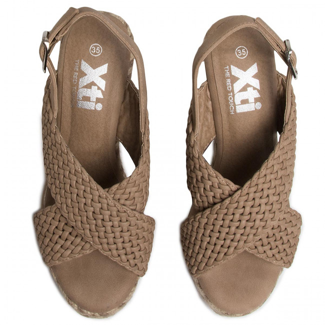 Espadrillas XTI - 44116 Taupe - Espadrillas - Ciabatte e sandali - Donna