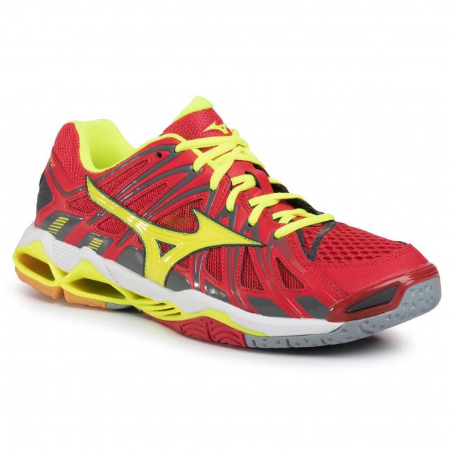 Mizuno Wave Tornado X2 (Rosso, Verde) scarpe V1GA181201