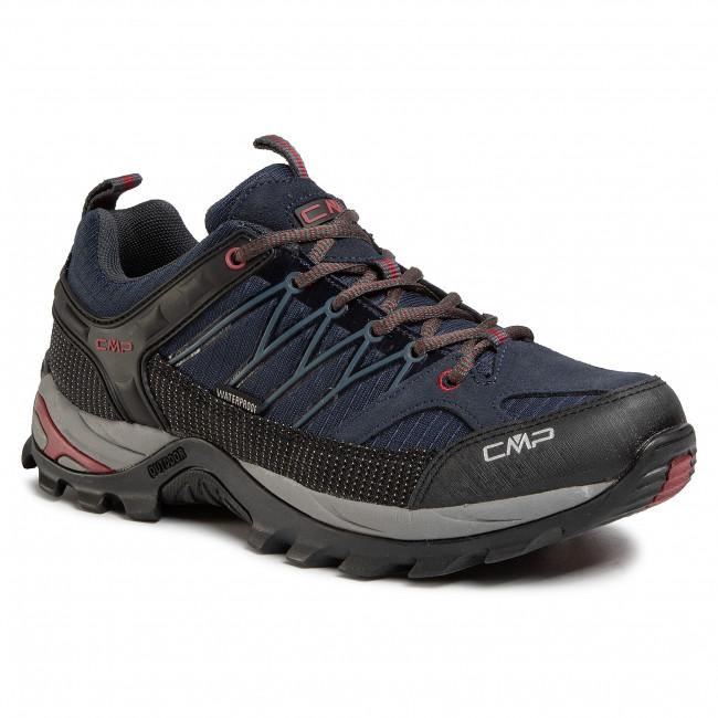 Scarpe da trekking CMP - Rigel Low Trekking Shoes Wp 3Q54457 Asphalt Syrah 62BN