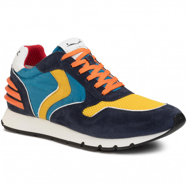 Sneakers VOILE BLANCHE Liam Power 0012014594.07.1C58 BleuGiallo