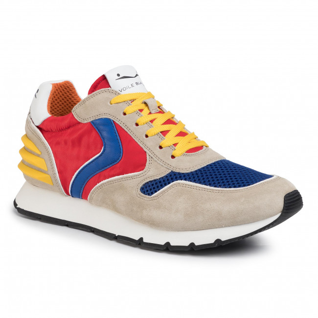 Sneakers VOILE BLANCHE Liam Power 0012014594.07.1012 SabbiaBlueRosso