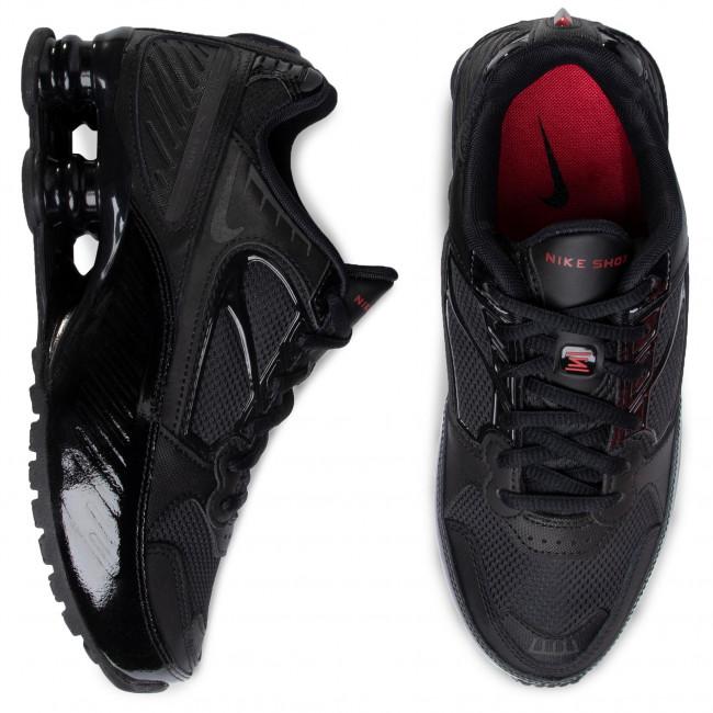 Scarpe NIKE - Shox Enigma BQ9001 001 Black/Black/Grym Red - Sneakers - Scarpe basse - Donna
