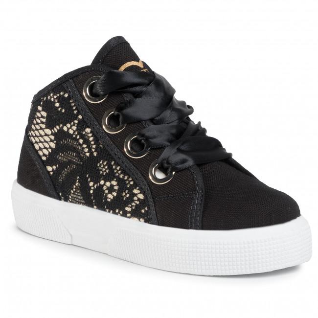 Sneakers GUESS - Piuma Lace Mid FI7PIM FAB12  BLACK