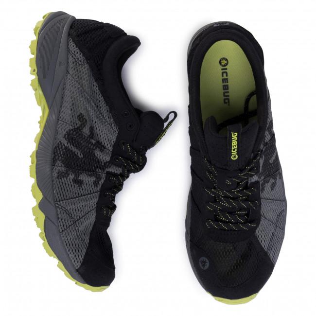 Scarpe ICEBUG - Mist2 M RB9X F6203-0A DkGrey/Black - Trail running - Running - Scarpe sportive - Uomo