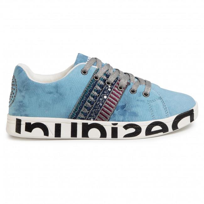 Sneakers DESIGUAL - Cosmic Exotic Denim 20SSKD04 5008 - Sneakers - Scarpe basse - Donna