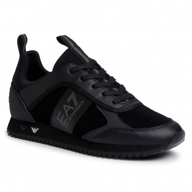 Sneakers EA7 EMPORIO ARMANI - X8X027 XK173 N526  Blk/Blk/Silv/Grape L