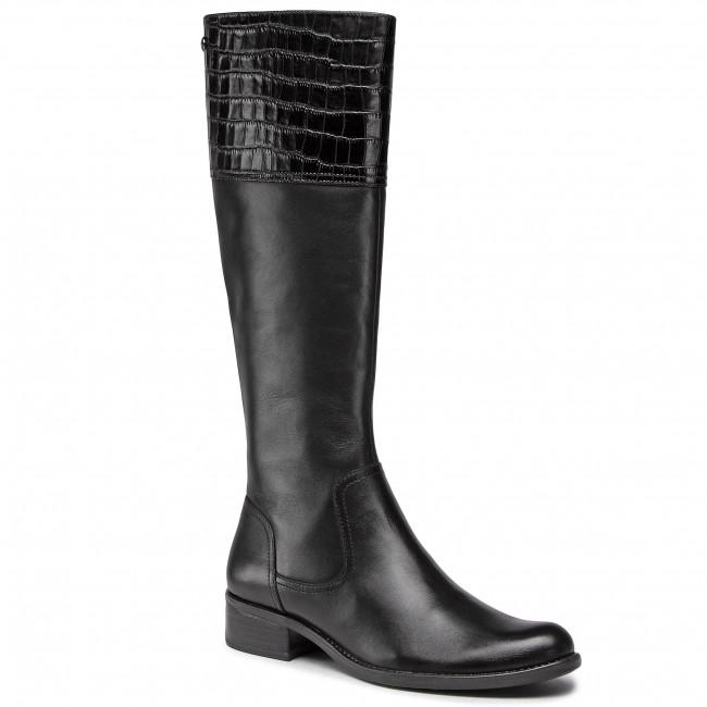 Stivali al ginocchio CAPRICE - 9-25525-25 Black Comb 019