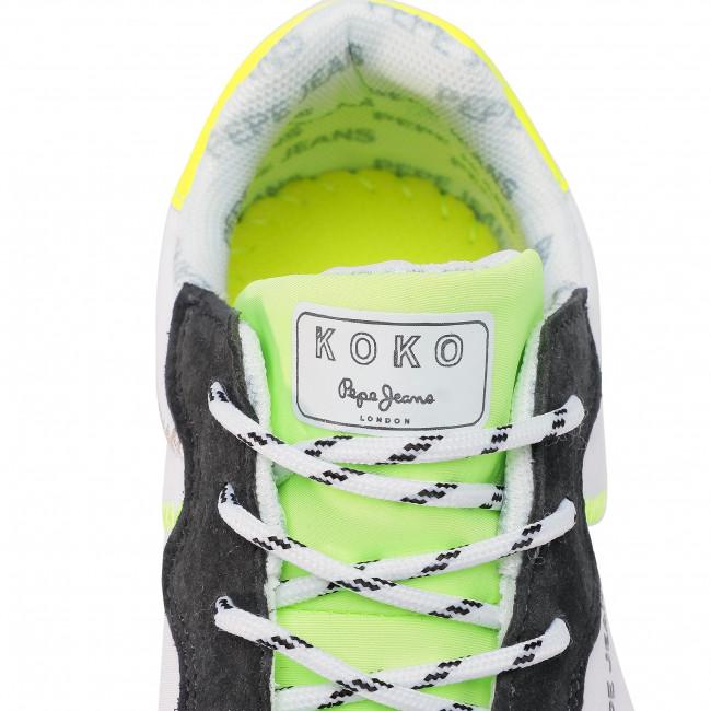 Sneakers Pepe Jeans - Koko Tech Pls30997 Neon Yellow 044 Scarpe Basse 3mRm1