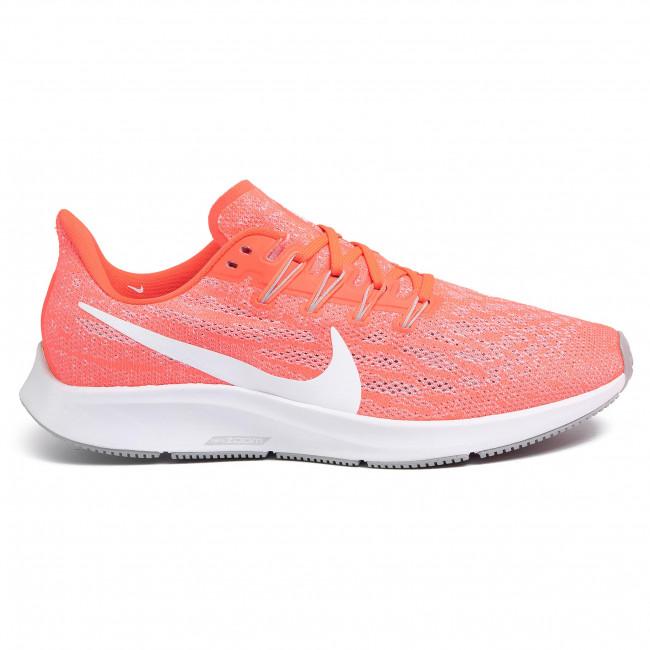 Scarpe NIKE - Air Zoom Pegasus 36 AQ2203 602 Laser Crimson/White - Scarpe da allenamento - Running - Scarpe sportive - Uomo