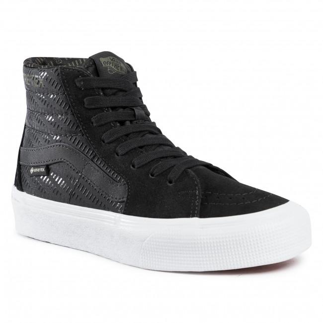 Sneakers VANS - Sk8-Hi GORE-TEX VN0A4VJD23F1  Blk/True White