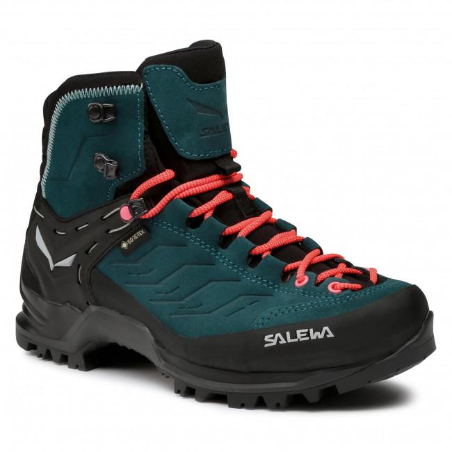 Scarpe da trekking SALEWA - Ws Mtn Trainer Mid Gtx GORE-TEX 63459 8550 Atlantic Deep/Ombre Blue