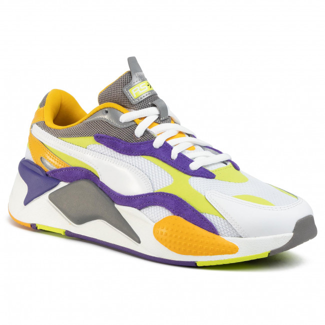 Sneakers PUMA - Rs-X3 Level Up 373169 01 Puma White/Limepunch