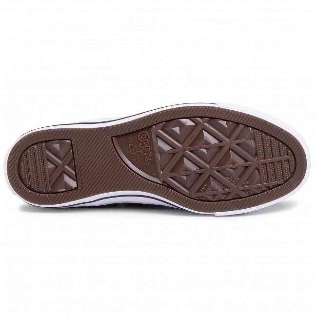 Scarpe da ginnastica CONVERSE - Ctas Ox 166710C Wolf Grey - Scarpe da ginnastica - Scarpe basse - Donna