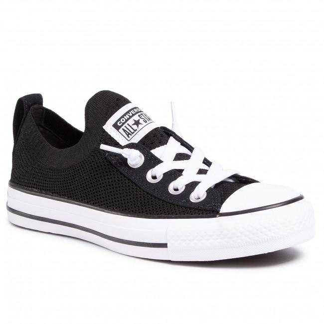 Scarpe da ginnastica CONVERSE - Ctas Shoreline Knit Slip 565489C  Black/White/Black
