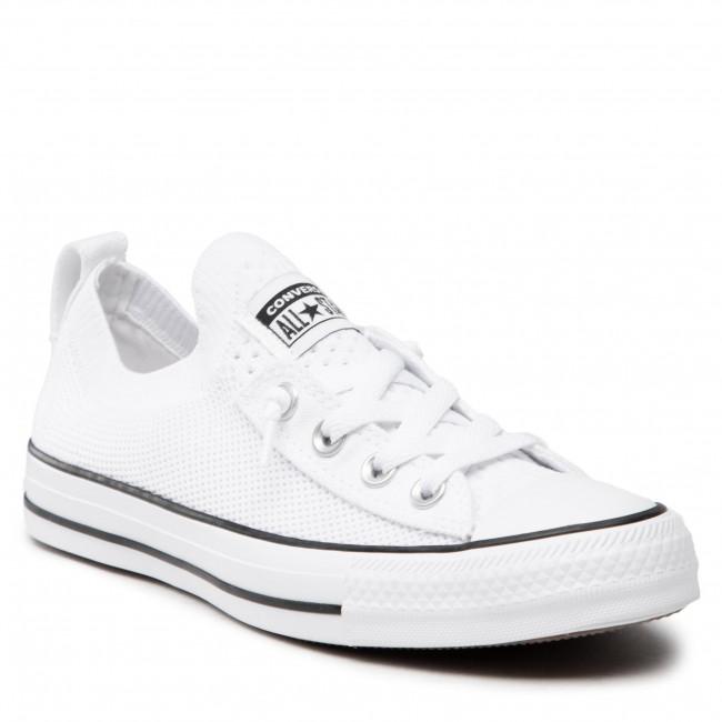 Scarpe da ginnastica CONVERSE - Ctas Shoreline Knit Slip 565490C White/Black/White