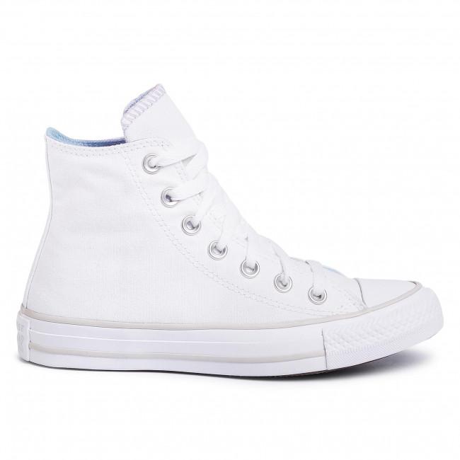 Scarpe da ginnastica CONVERSE - Ctas Hi 567737C White/Multi/pale Putty - Scarpe da ginnastica - Scarpe basse - Donna