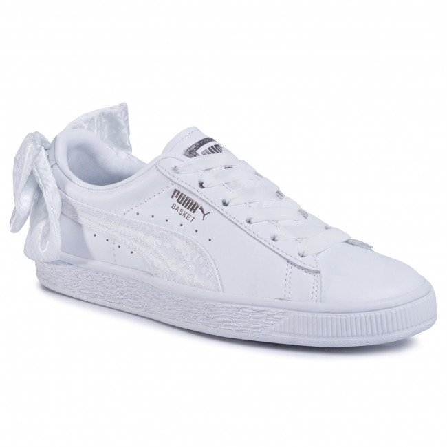 Sneakers PUMA Basket Bow Animal Wn\'s 367828 01 Puma WhitePuma Aged Silver
