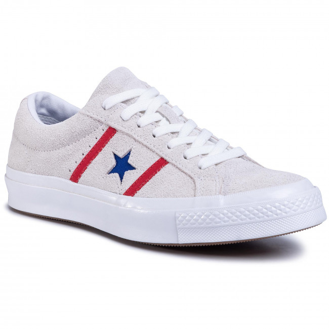 Scarpe sportive CONVERSE - One Star Academy Ox 164390C White/Enamel Red/Blue