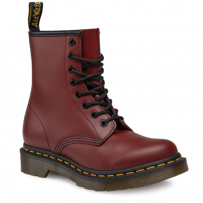 Anfibi DR. MARTENS - 1460 Smooth 11821600 Cherry Red