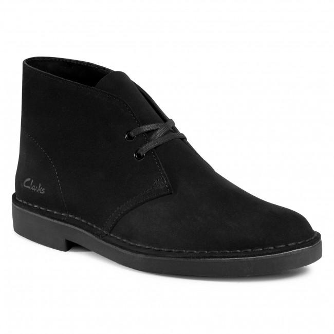 Polacchi CLARKS - Desert Boot 2 261554997 Black Suede