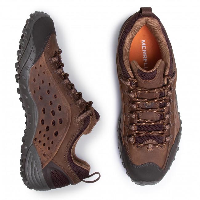 Scarpe da trekking MERRELL - Intercept J598673 Dark Brown - Scarpe da trekking e scarponcini - Scarpe basse - Uomo