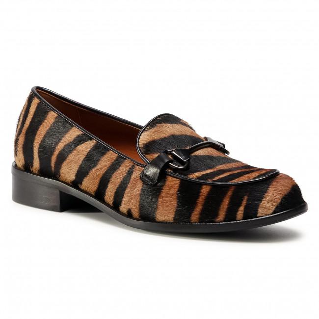 Scarpe basse SOLO FEMME - 96660-05-L24/A19-03-00 Zebra Czarno Brązowy
