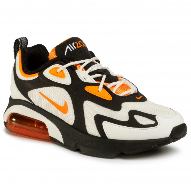 Scarpe NIKE - Air Max 200 CI3865 004 Black/Magma Orange/Sail