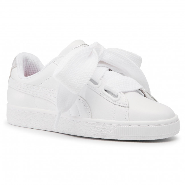 Sneakers PUMA Basket Heart Bio Hack Wn's 369223 01 Puma WhitePuma Silver
