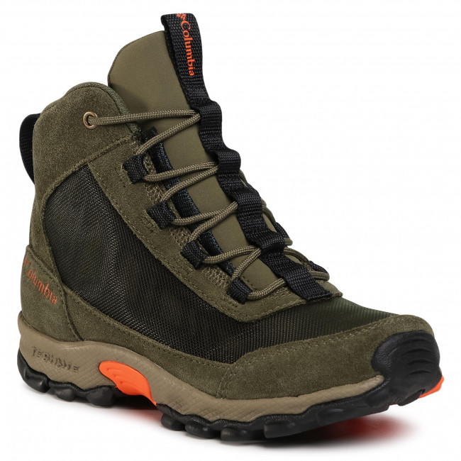 Scarpe da trekking COLUMBIA - Youth Flow Borough Mid BY0121 Nori.Tangy Ora 383