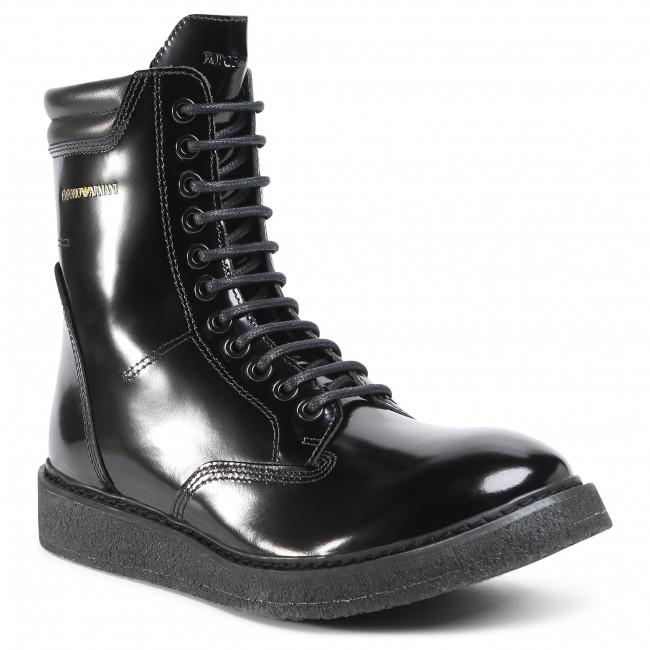 Stivali EMPORIO ARMANI - X4M344 XF472 00002 Black
