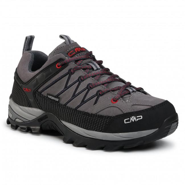 Scarpe da trekking CMP - Rigel Low Trekking Shoes Wp 3Q13247 Graffite/Atracite 44UF
