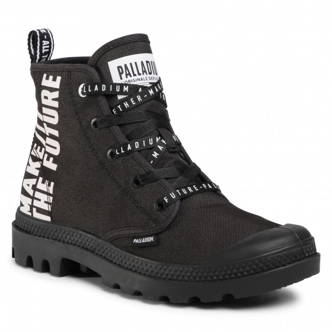 Scarponcini PALLADIUM - Pampa Hi Future 76885-008-M Black/Black