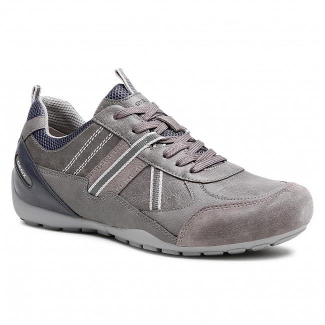 Sneakers GEOX - U Ravex A U043FA 0PTEK C1006 Grey