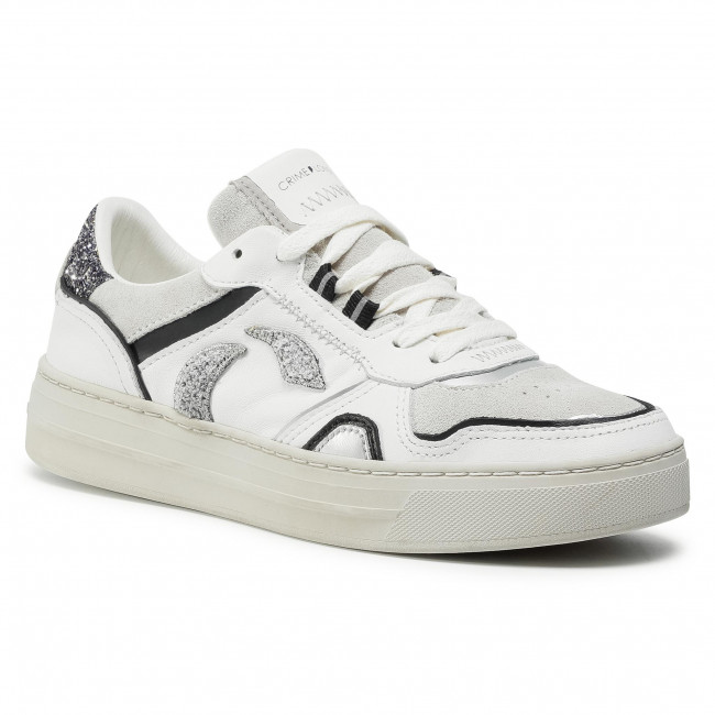 Sneakers CRIME LONDON - Low Top Off Court 25101AA3.10 White