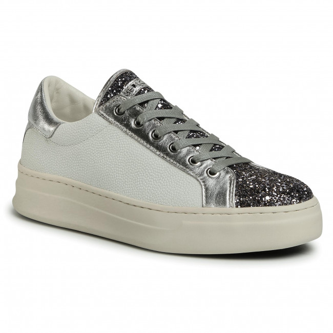 Sneakers CRIME LONDON - Low Top Classic 25808AA3.25 Silver