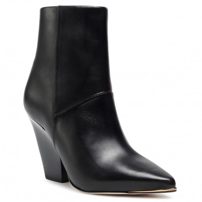 Tronchetti TORY BURCH - Lila 90Mm Zip Up Ankle Bootie 76578 Perfect Black/Perfect Black/Perfect Black