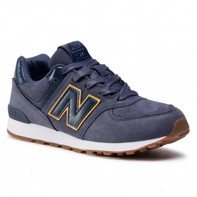 Sneakers NEW BALANCE - GC574PNY Blu scuro