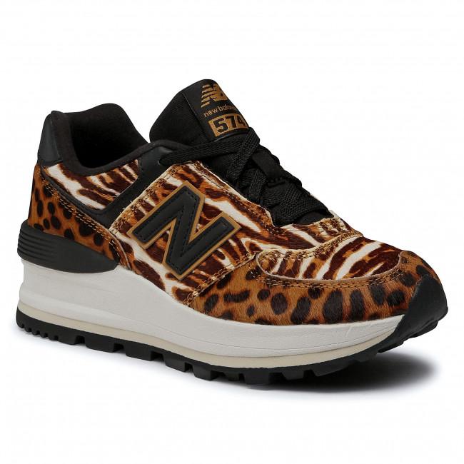 Sneakers NEW BALANCE - WL574CZB Marrone