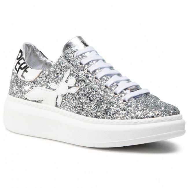 Sneakers PATRIZIA PEPE - 2V9708/A4T8-F1TI Silver Glitter